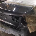 Ремонт багажника и бампера киа рио